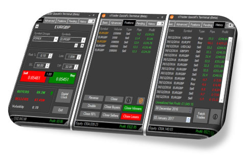 cTrader QuickFx Trading Terminal Free Download