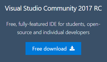 Visual Studio 2017 Free Download