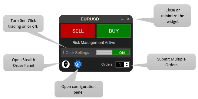 cTrader Trading Software Widget