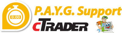 ctrader payg programming support