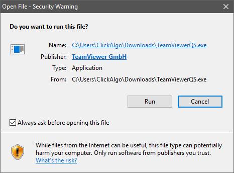 ctrader teamviewer safe