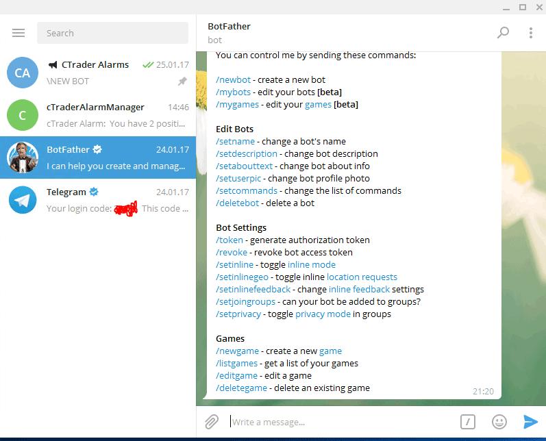How to Create a Telegram Messenger Bot