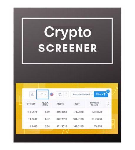 cTrader Crypto Screener Widget