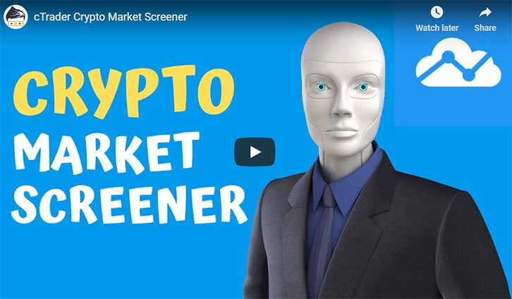 cTrader Crypto Screener Video
