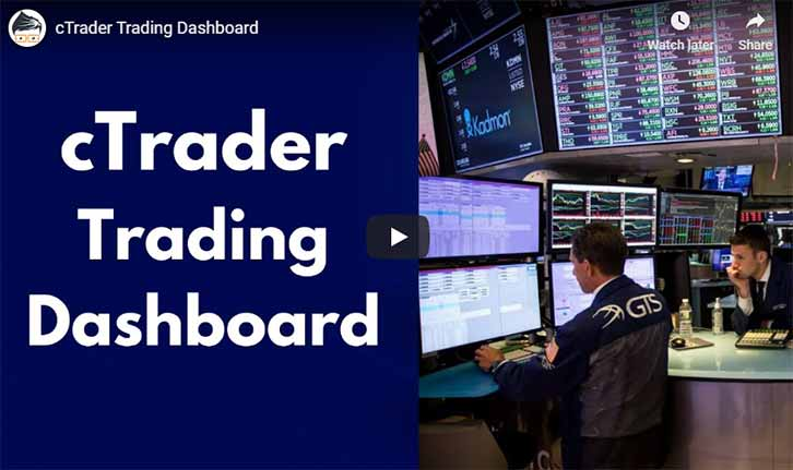 cTrader Forex Trading Dashboard