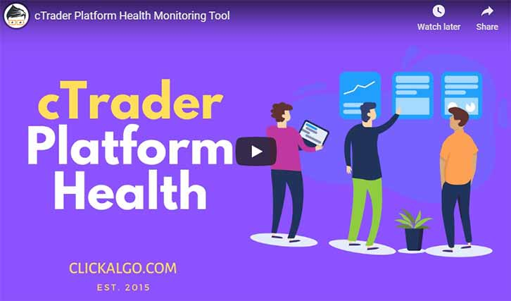 cTrader Health Monitor Video