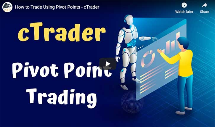 cTrader Pivot Point Trading Video