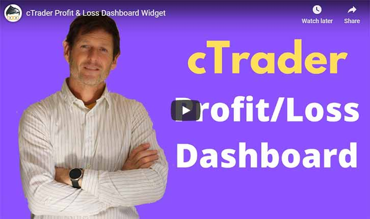 cTrader Profit Loss Video