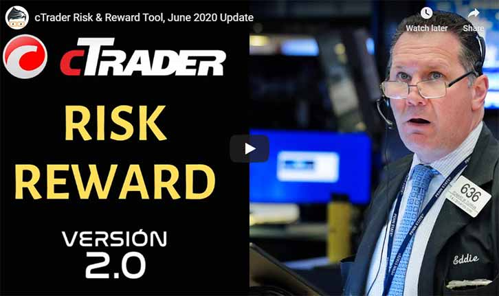 cTrader Risk Reward Tool Video