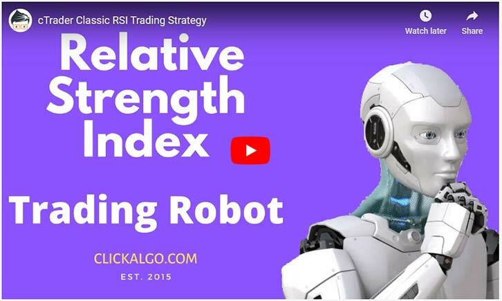 cTrader RSI Trading Robot Video